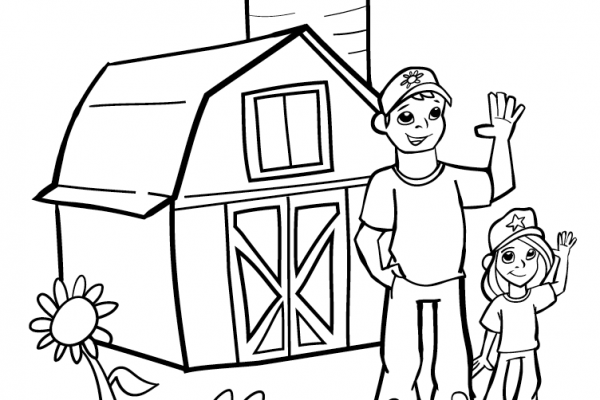 Farm-City Coloring Contest